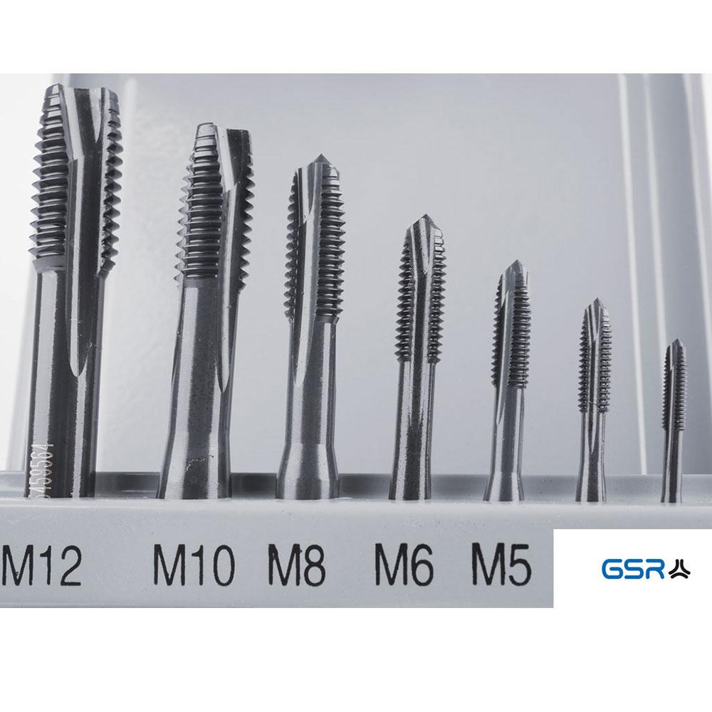 7 tlg. MGB Kassette DIN 371/376 M3-M12 VAP Form B