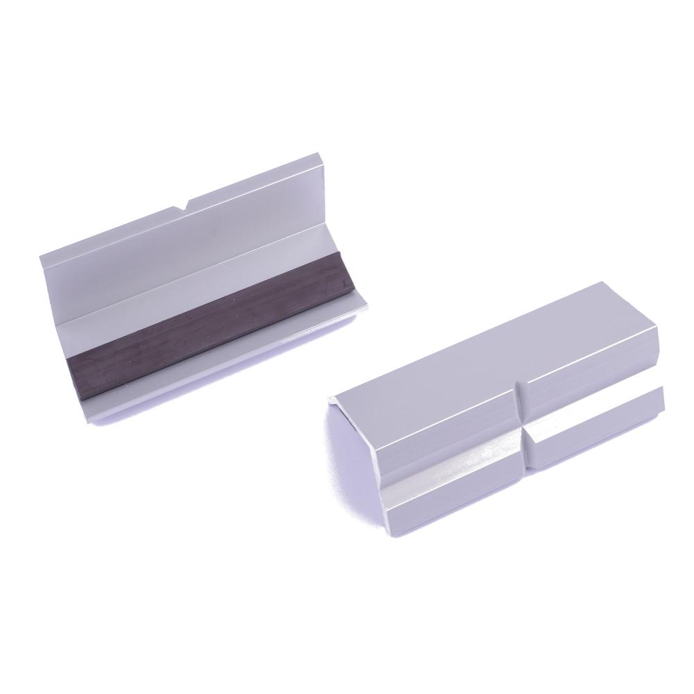 Schonbacken Alu, mit Magnet 150 mm